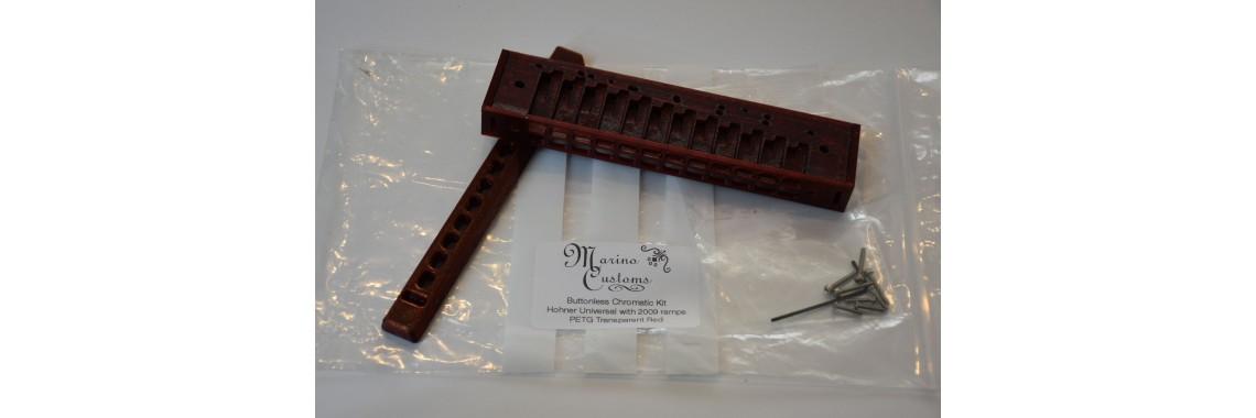Marino Customs Buttonless Chromatic Harmonica Kit